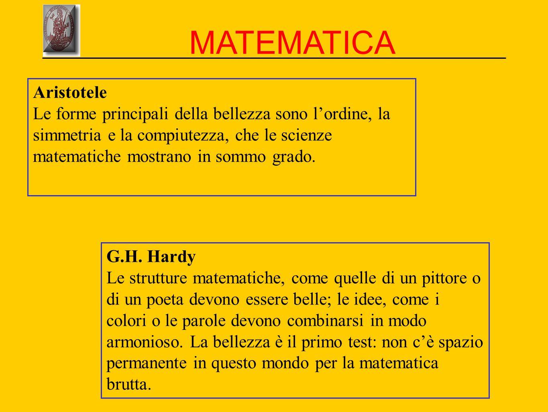 MATEMATICA Aristotele