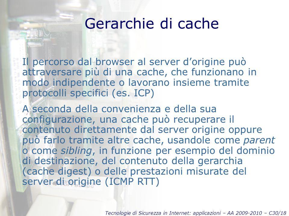 Gerarchie di cache