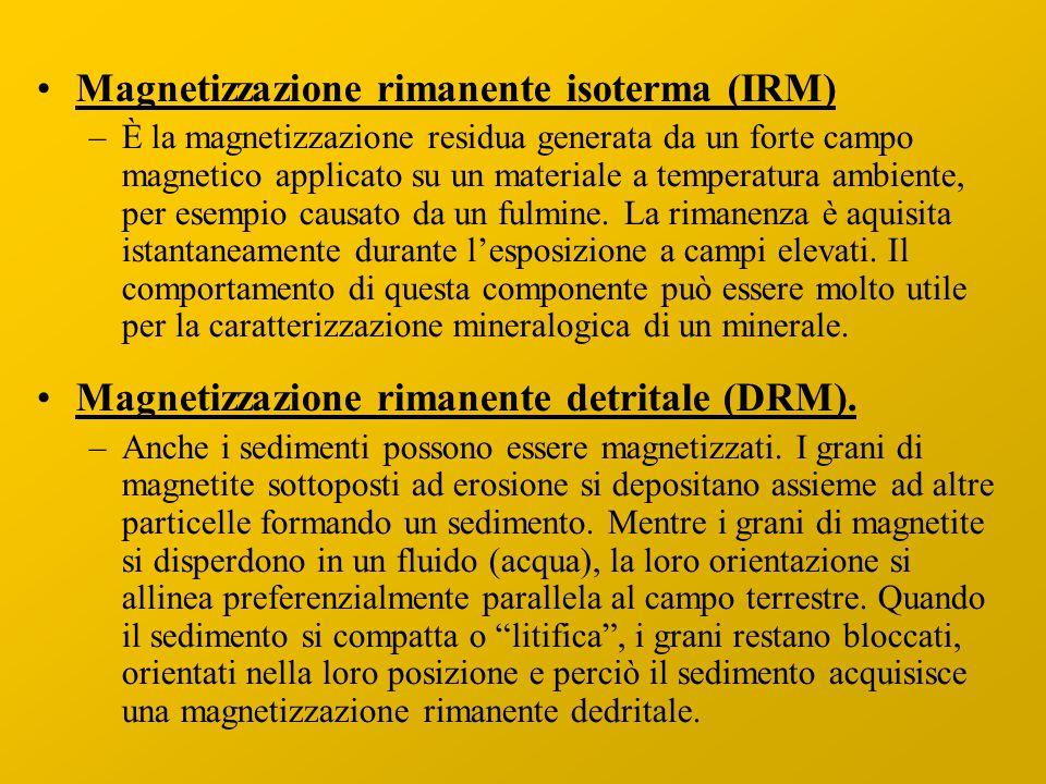Magnetizzazione rimanente isoterma (IRM)