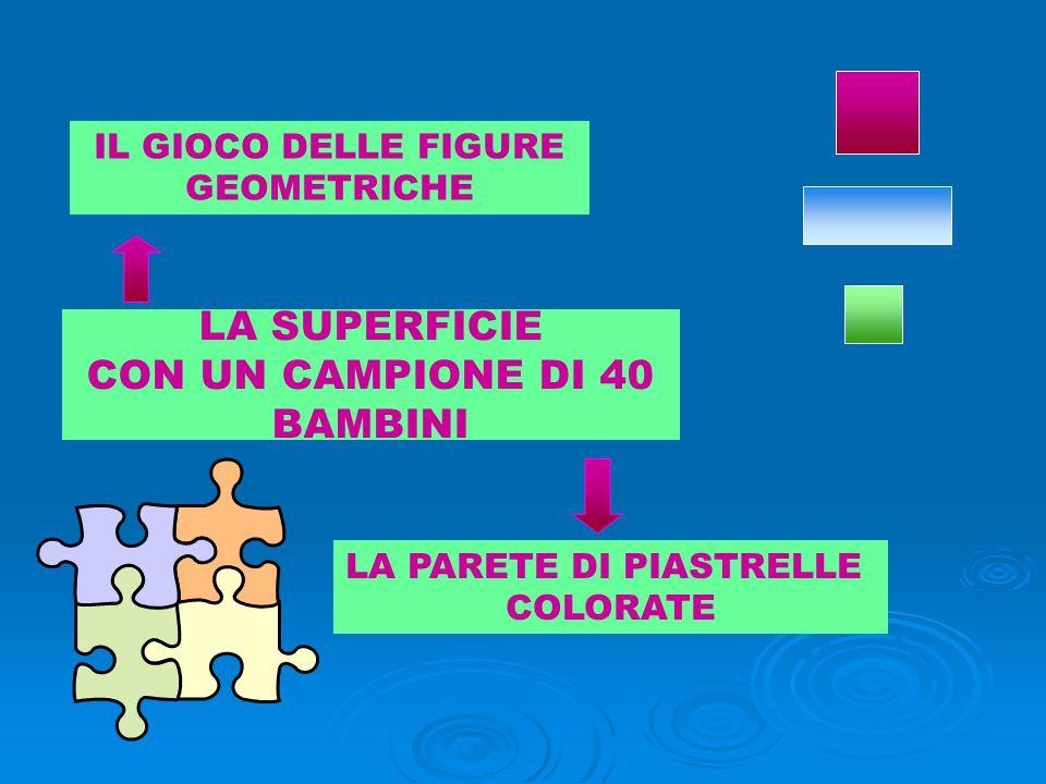 LA SUPERFICIE CON UN CAMPIONE DI 40 BAMBINI