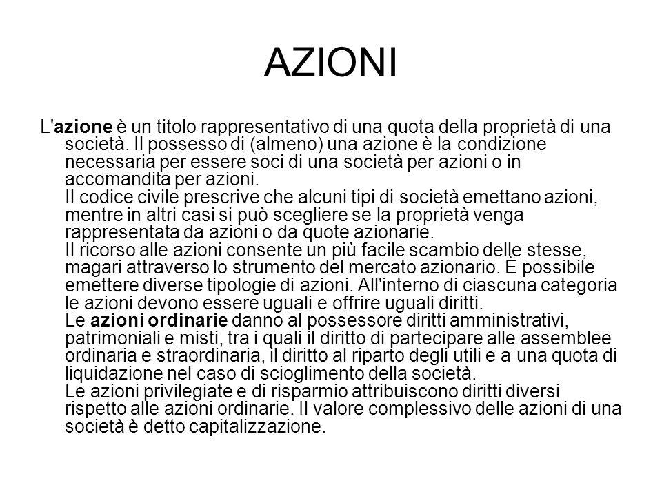 AZIONI