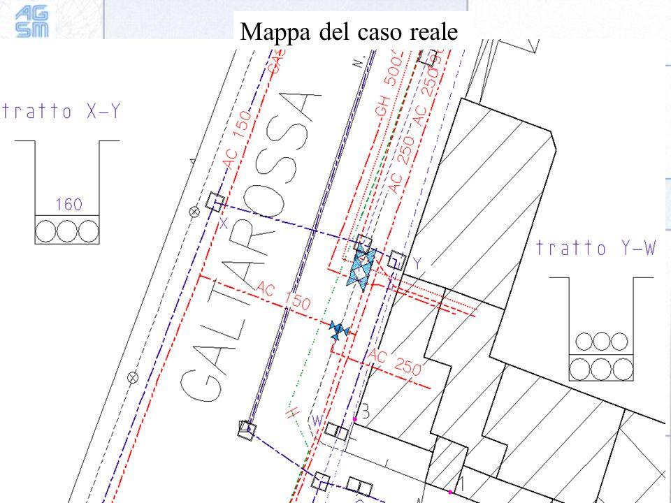 Mappa del caso reale