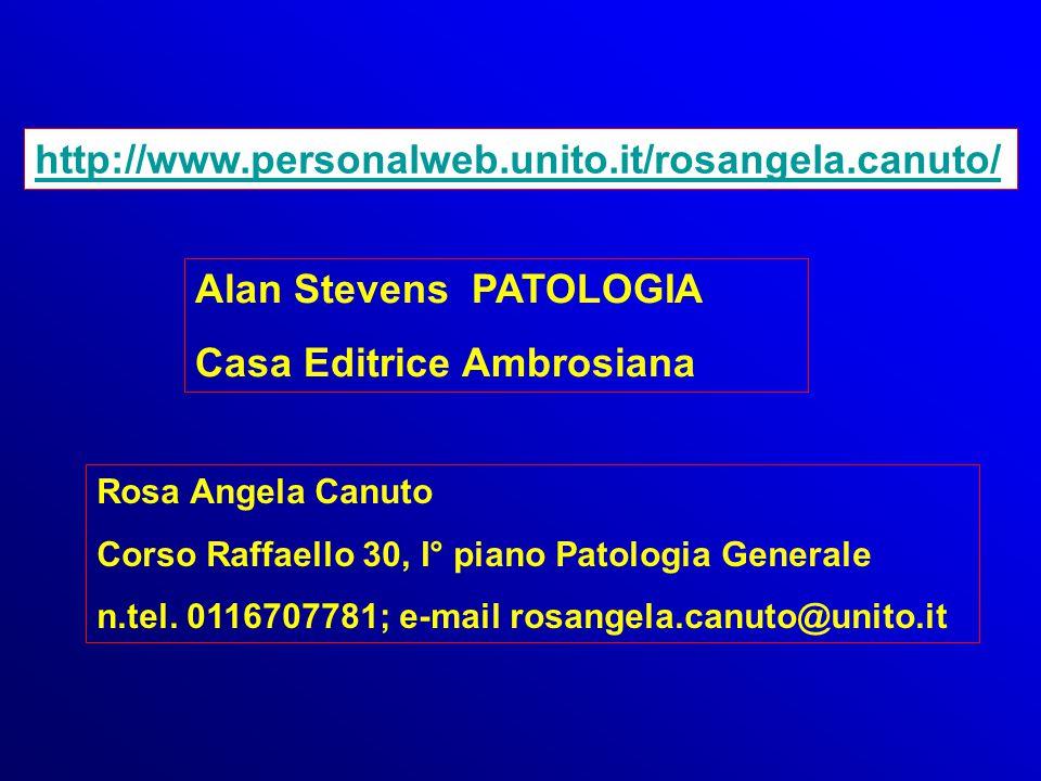 Alan Stevens PATOLOGIA Casa Editrice Ambrosiana