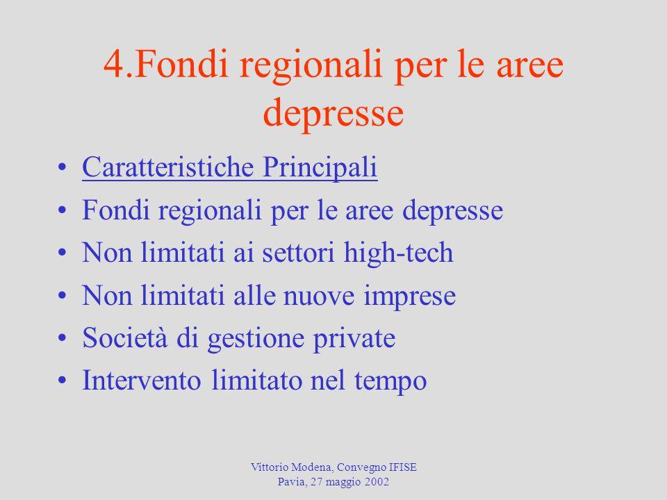 4.Fondi regionali per le aree depresse