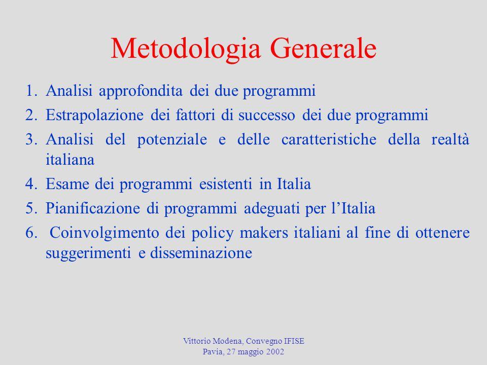 Vittorio Modena, Convegno IFISE