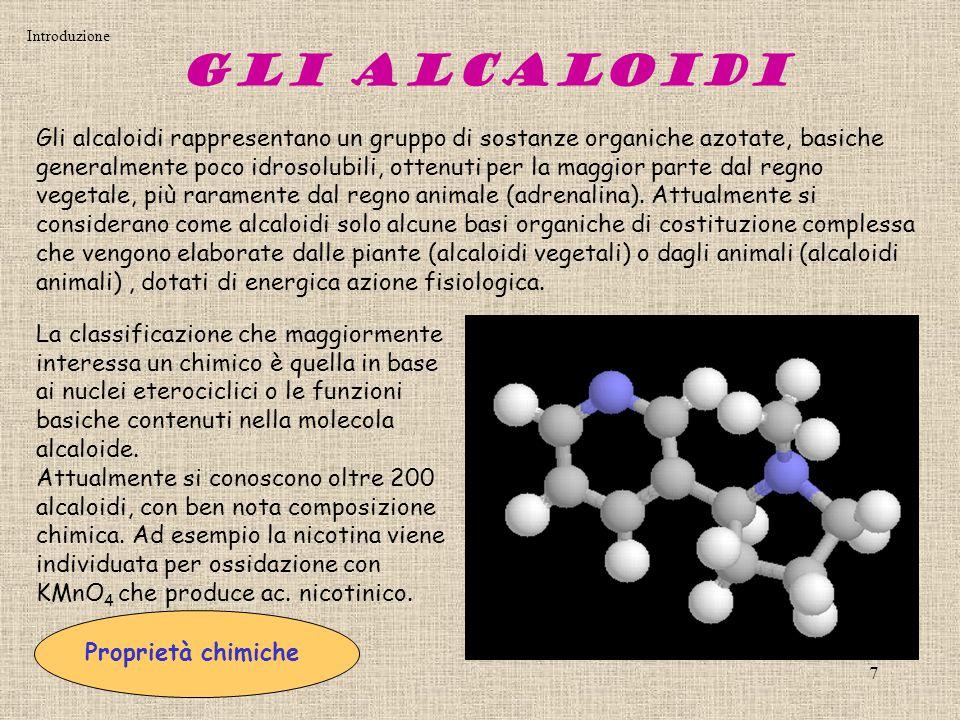 Introduzione Gli Alcaloidi.