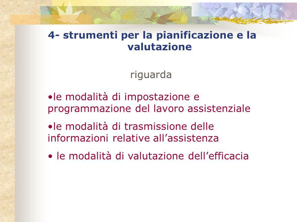 4- strumenti per la pianificazione e la valutazione