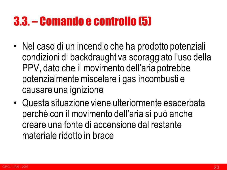 3.3. – Comando e controllo (5)