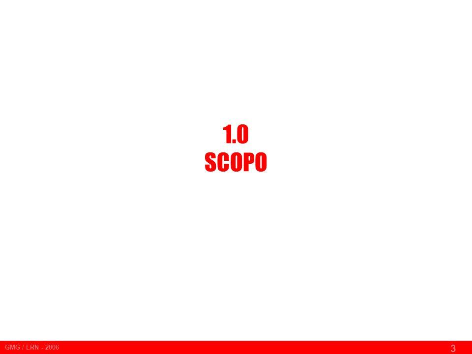 1.0 SCOPO