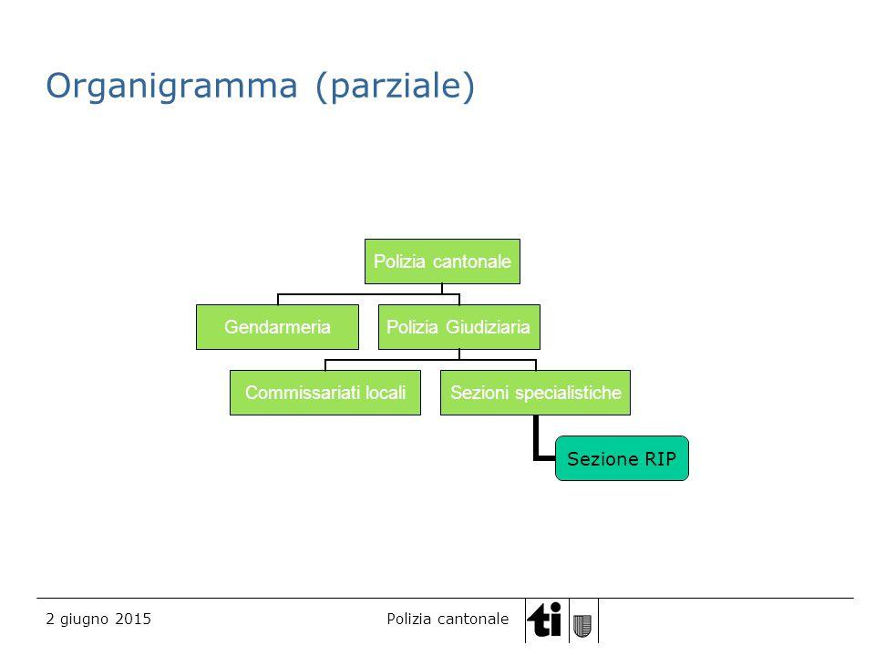 Organigramma (parziale)