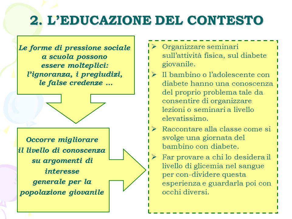 2. L'EDUCAZIONE DEL CONTESTO