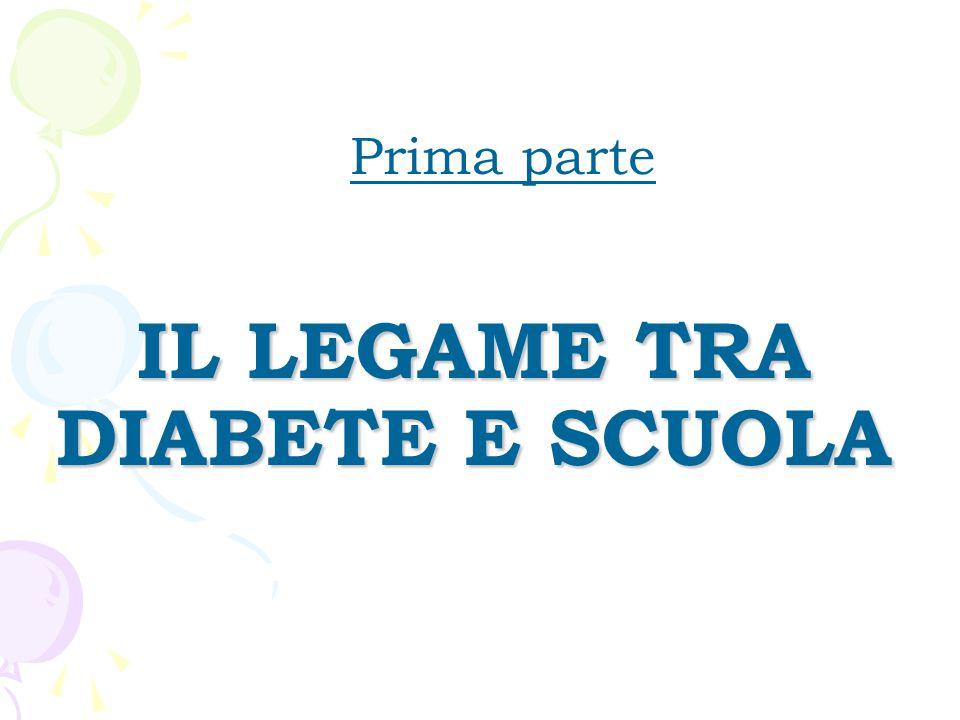 IL LEGAME TRA DIABETE E SCUOLA