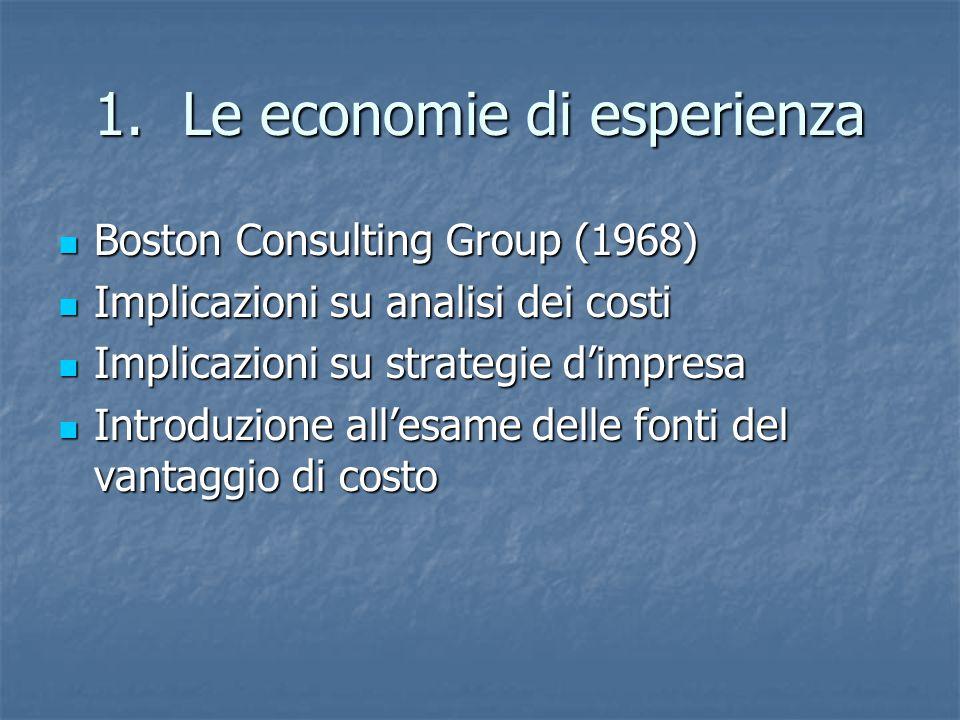 Le economie di esperienza