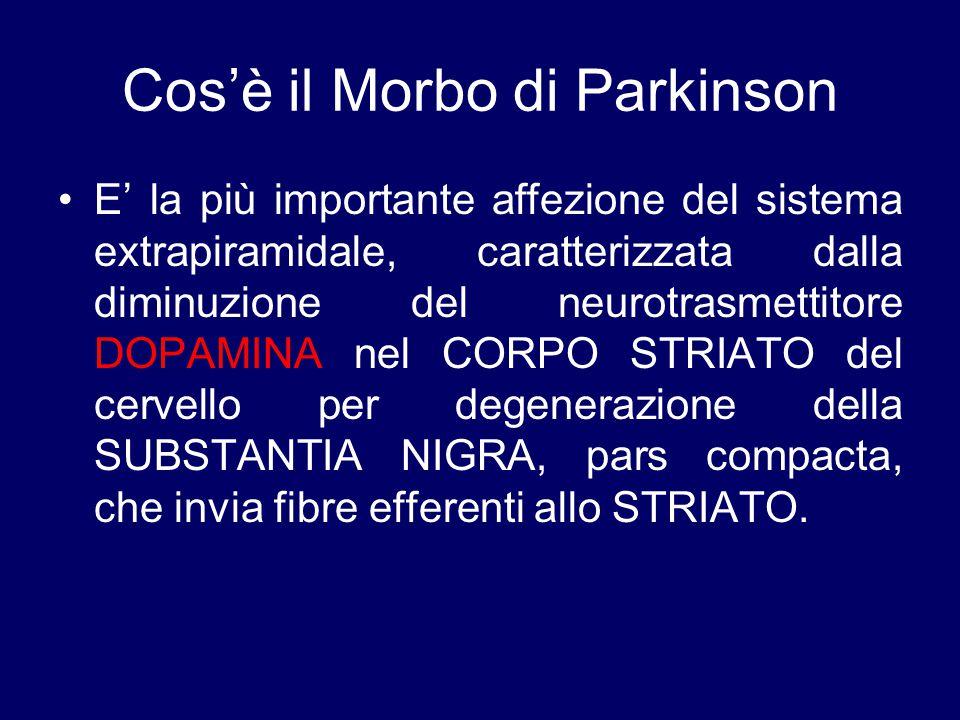 Cos'è il Morbo di Parkinson