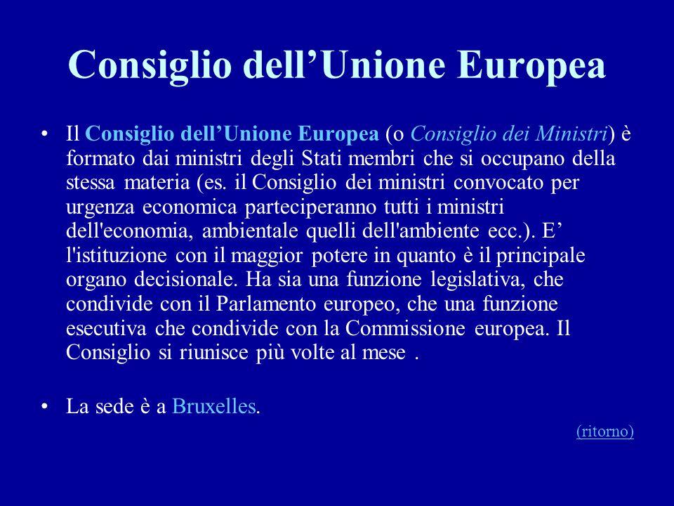 Consiglio dell'Unione Europea