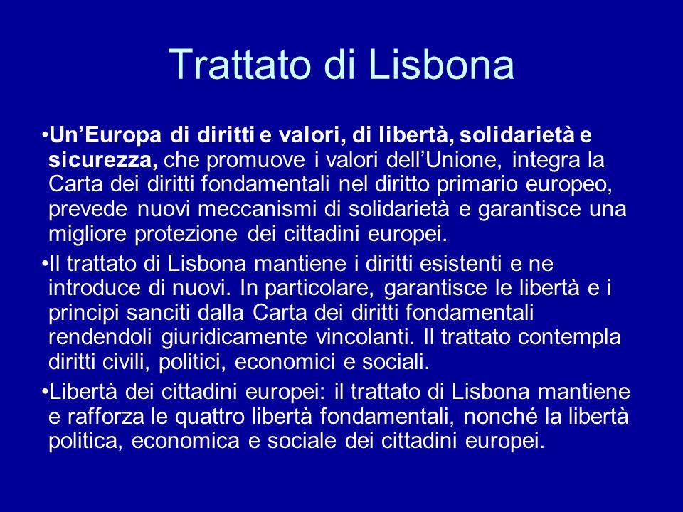 Trattato di Lisbona