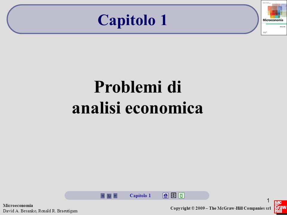 Problemi di analisi economica
