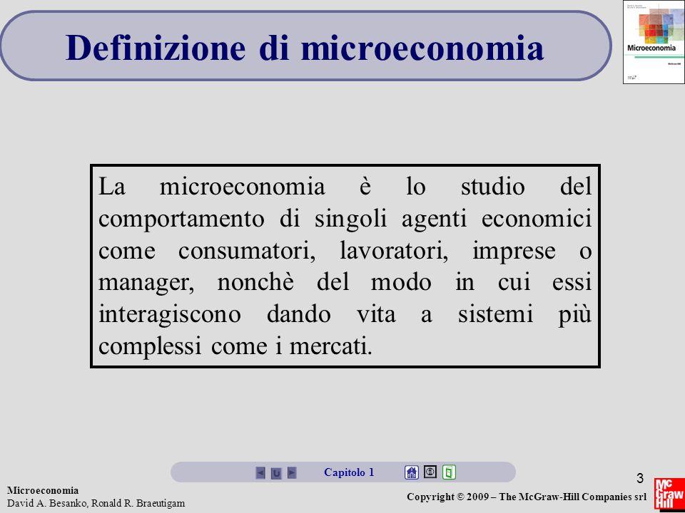 Definizione di microeconomia