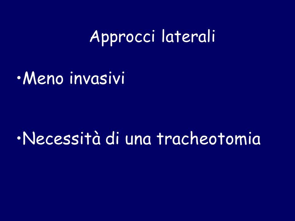 Necessità di una tracheotomia
