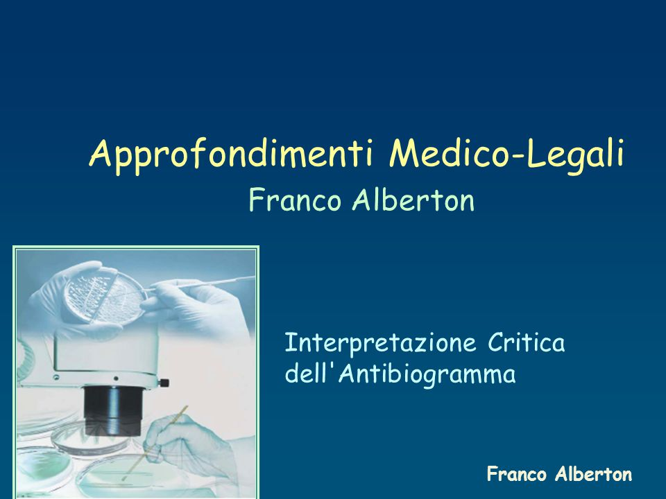Approfondimenti Medico-Legali Franco Alberton