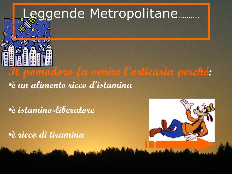 Leggende Metropolitane……….