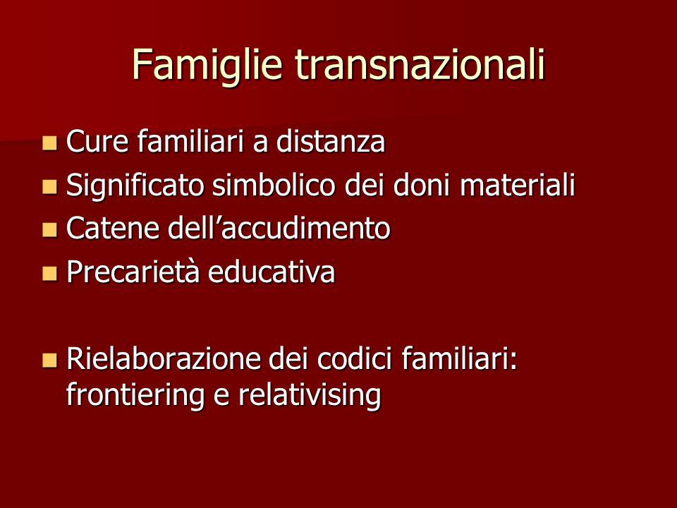 Famiglie transnazionali