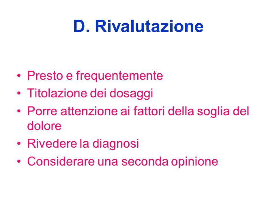 D. Rivalutazione Presto e frequentemente Titolazione dei dosaggi