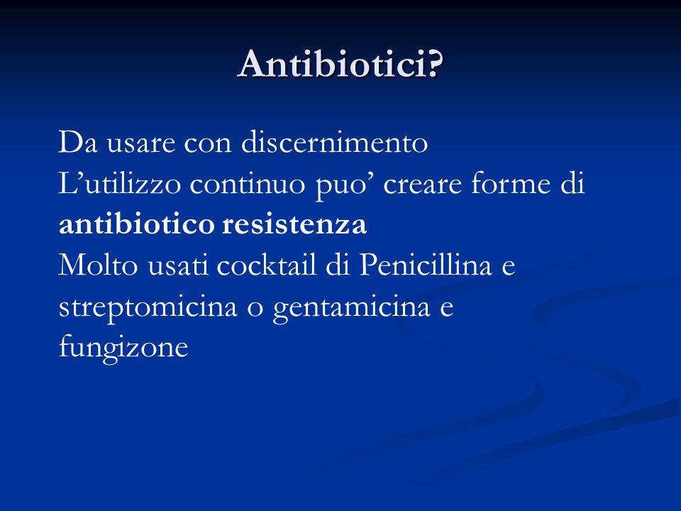 Antibiotici Da usare con discernimento