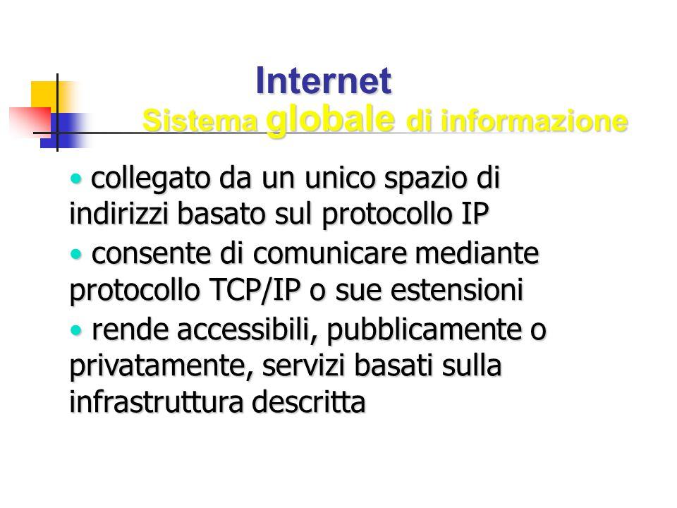 Sistema globale di informazione