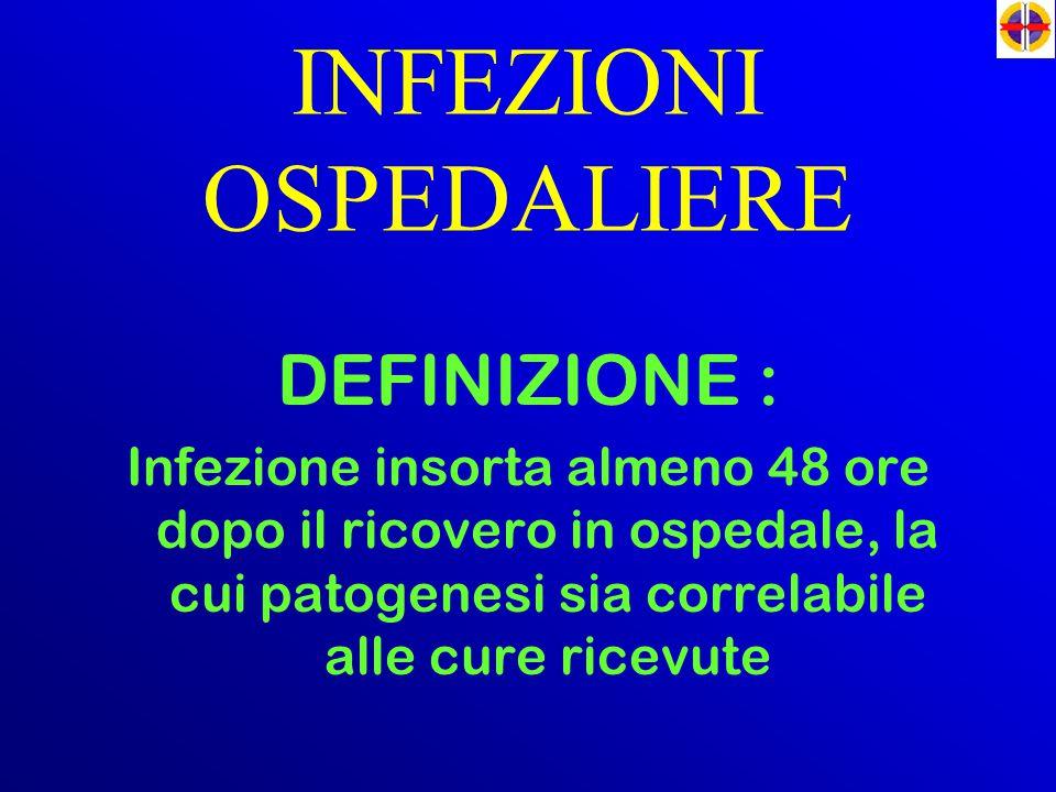 INFEZIONI OSPEDALIERE