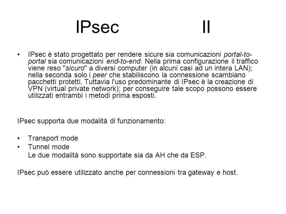 IPsec II