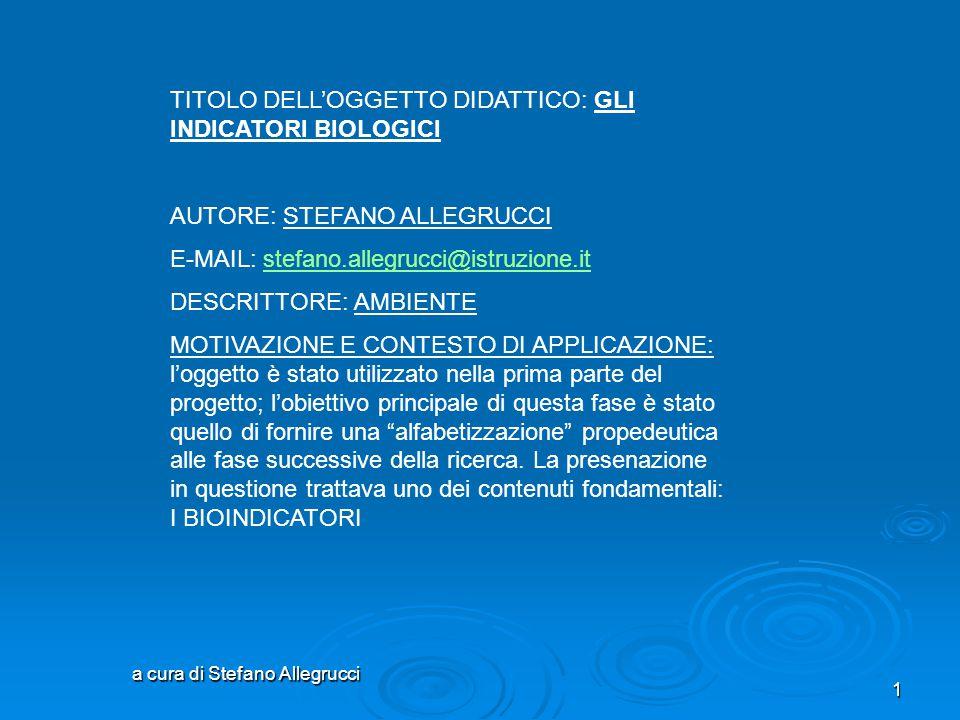 a cura di Stefano Allegrucci