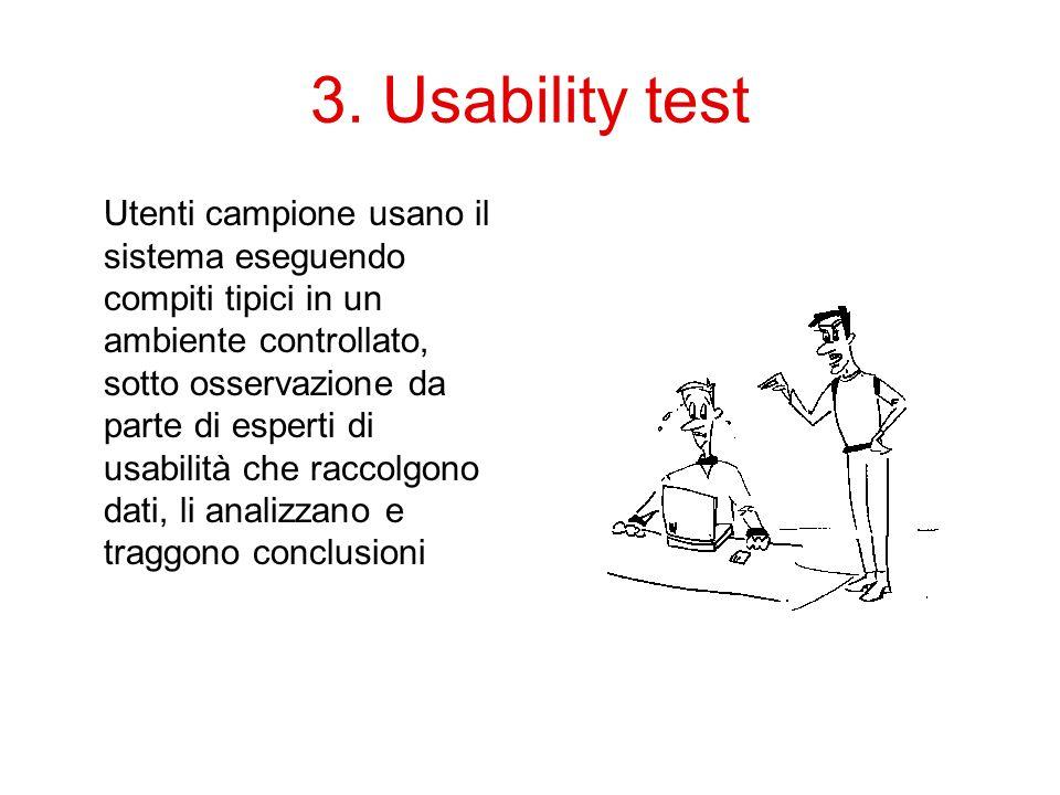 3. Usability test