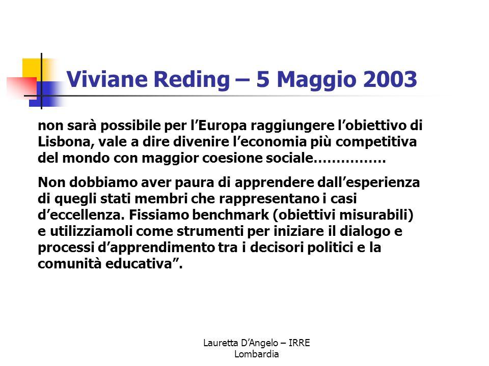 Viviane Reding – 5 Maggio 2003