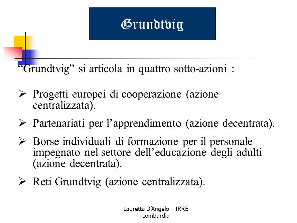 Lauretta D'Angelo – IRRE Lombardia