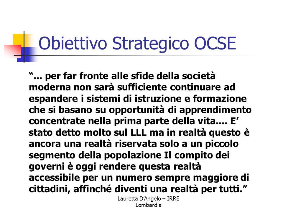Obiettivo Strategico OCSE