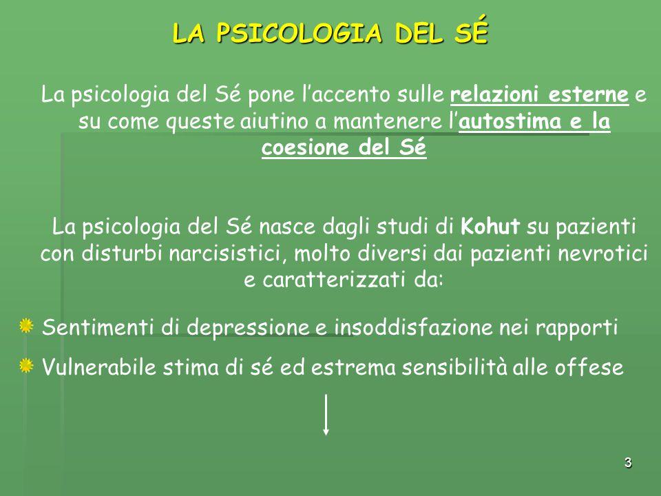 LA PSICOLOGIA DEL SÉ
