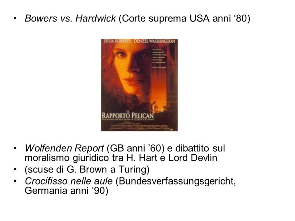 Bowers vs. Hardwick (Corte suprema USA anni '80)