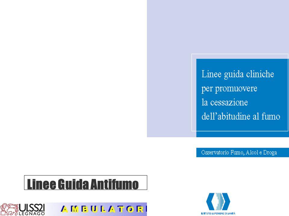 Linee Guida Antifumo
