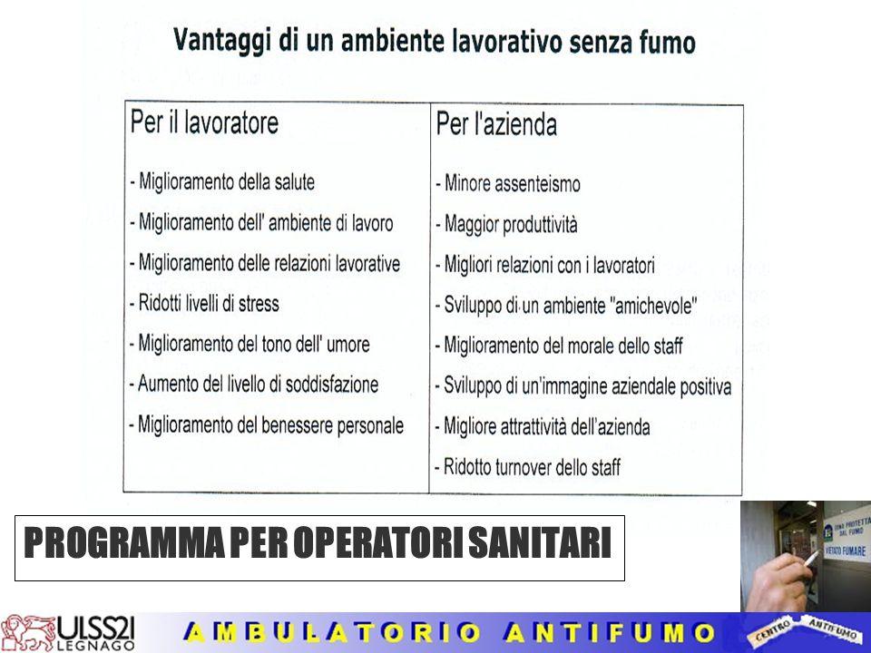 PROGRAMMA PER OPERATORI SANITARI