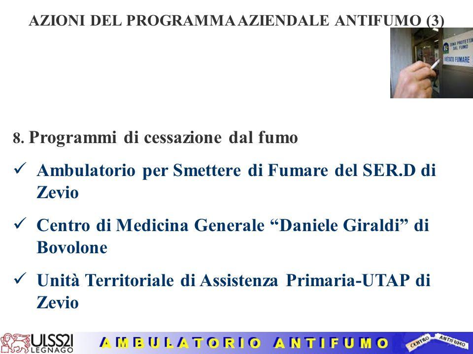 AZIONI DEL PROGRAMMA AZIENDALE ANTIFUMO (3)
