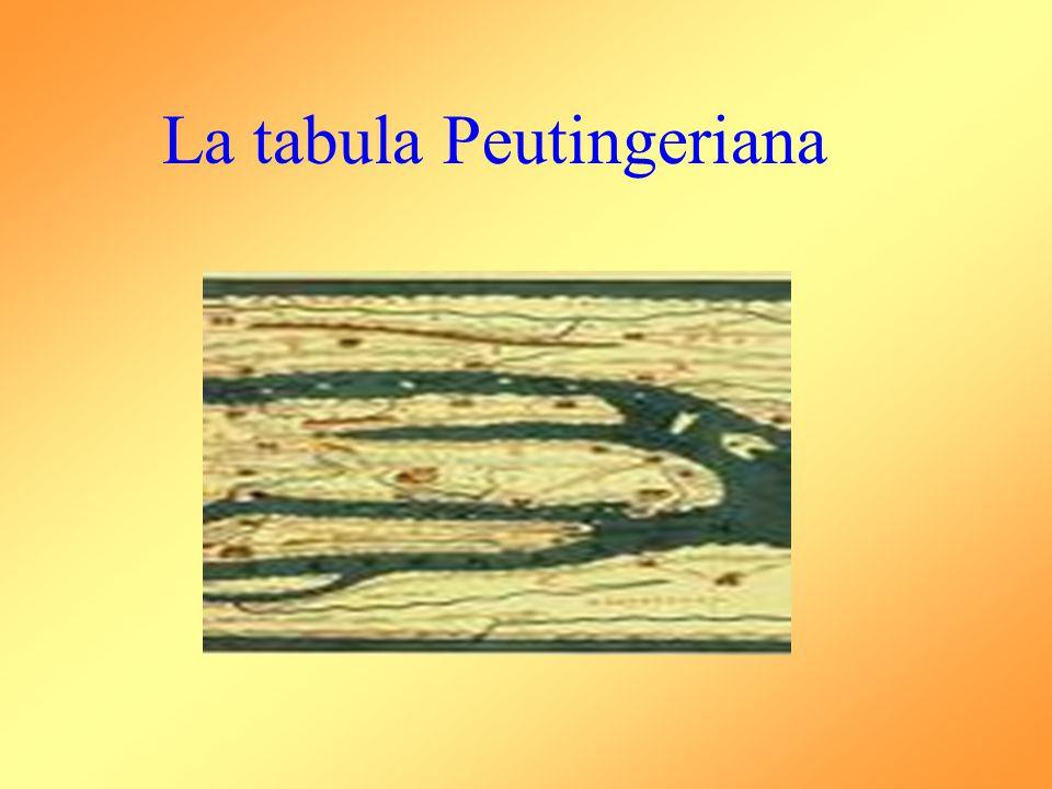 La tabula Peutingeriana