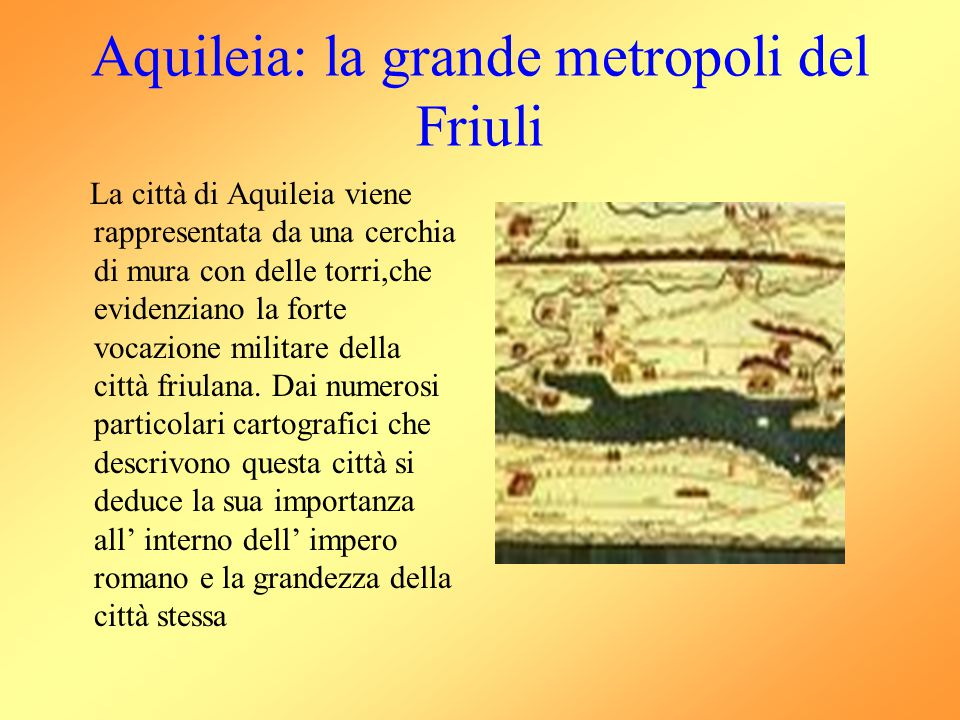 Aquileia: la grande metropoli del Friuli