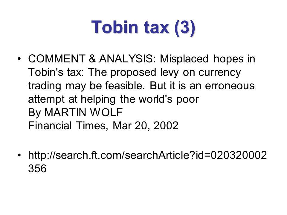 Tobin tax (3)