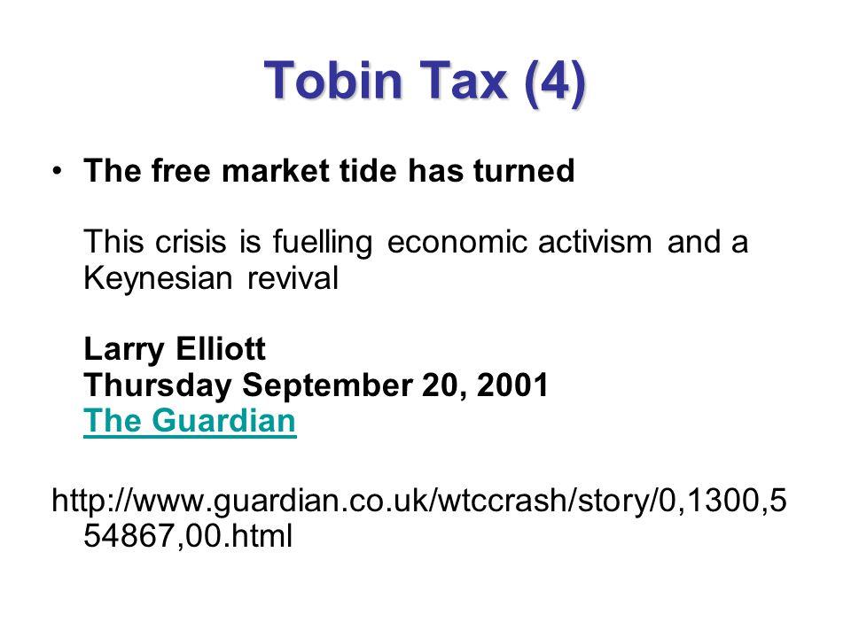 Tobin Tax (4)