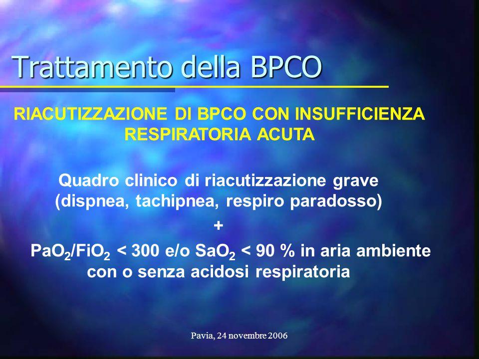 Trattamento della BPCO