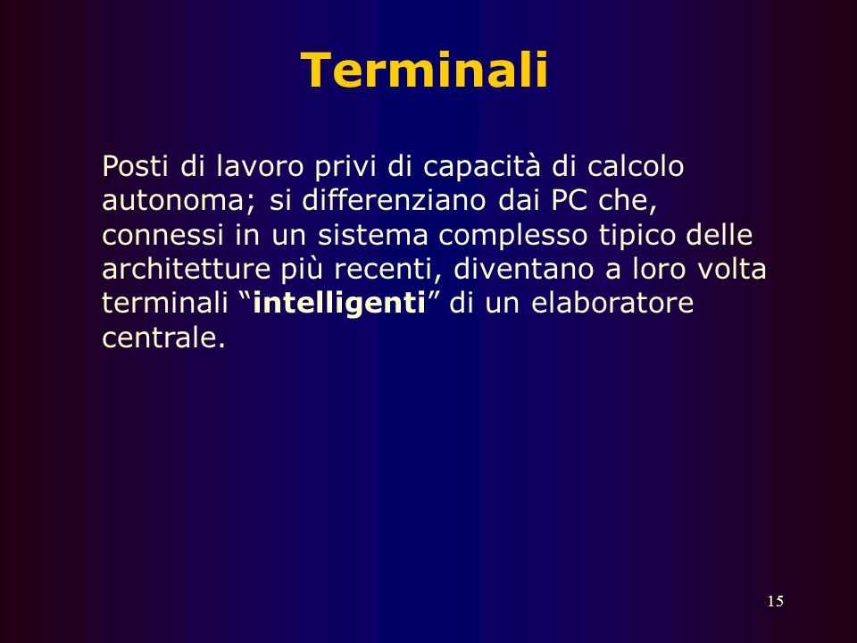 Terminali
