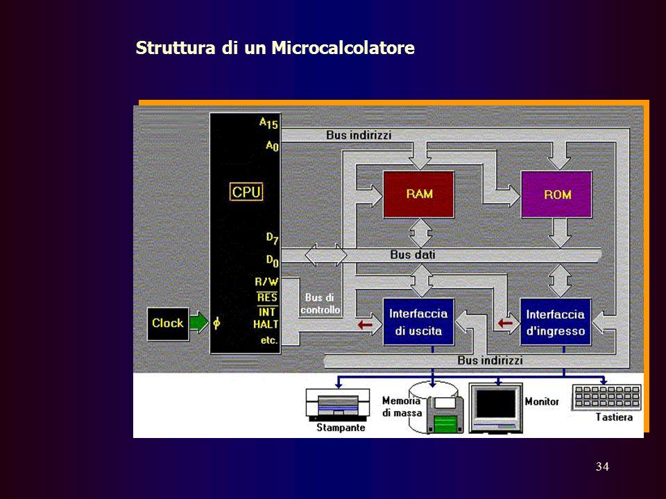 Struttura di un Microcalcolatore