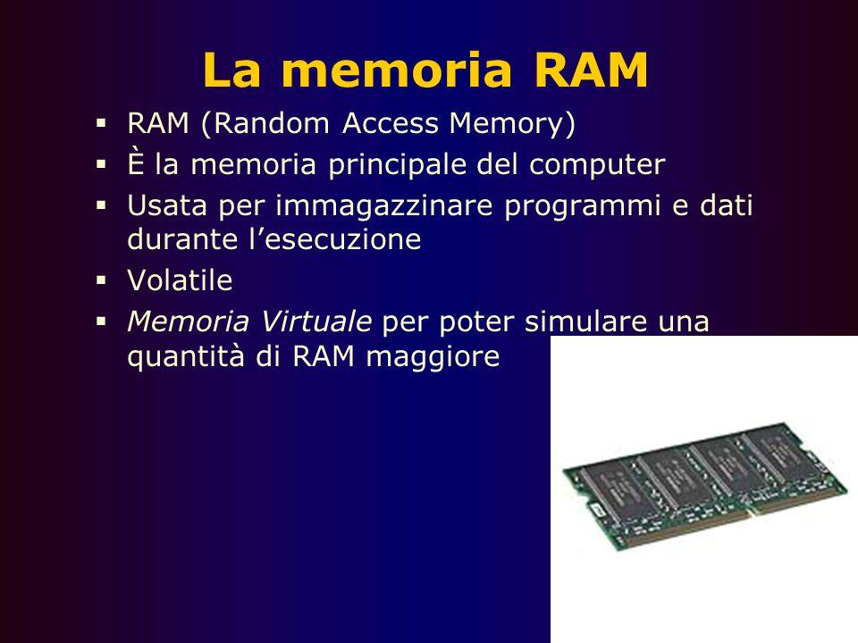 La memoria RAM RAM (Random Access Memory)