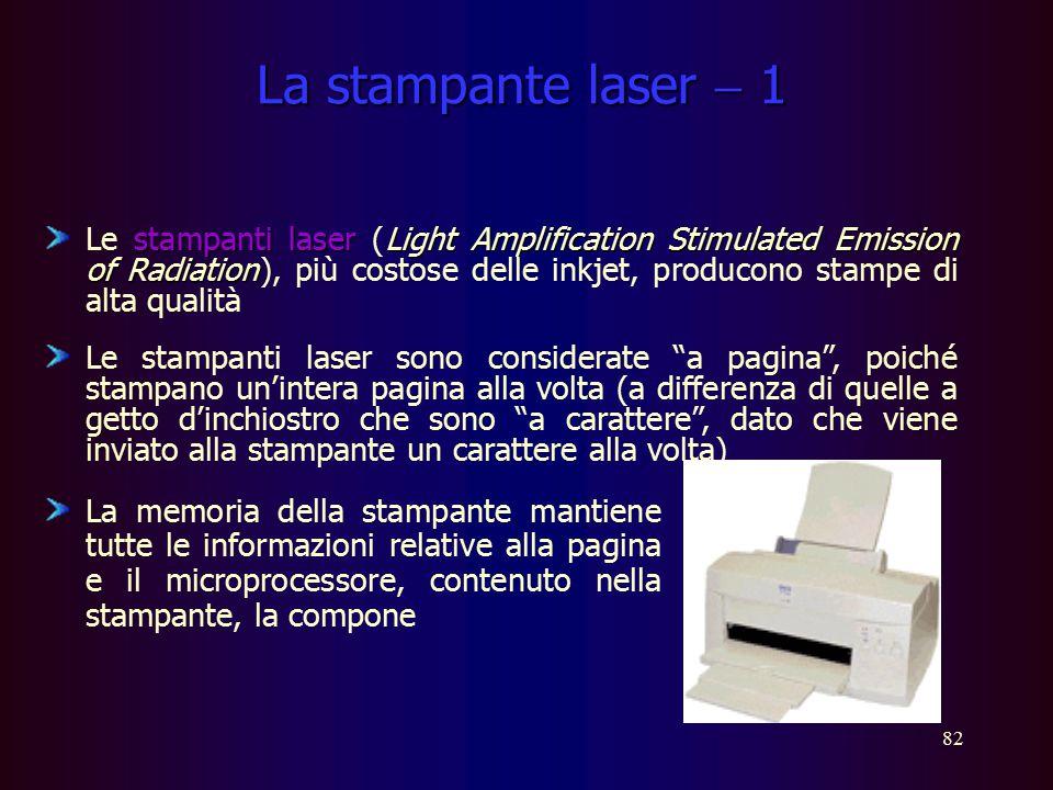 La stampante laser  1